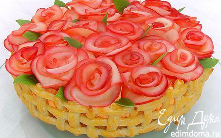 Рецепт Торт «Миллион алых роз для Едим Дома»