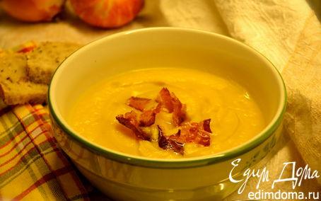 Рецепт Тыквенный суп с яблоками