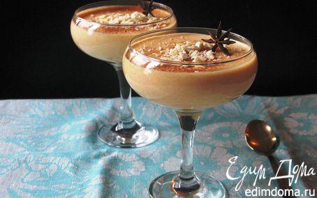 Рецепт Тыквенный мусс с белым шоколадом и апельсином