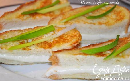 Рецепт Горячие бутерброды с моцареллой