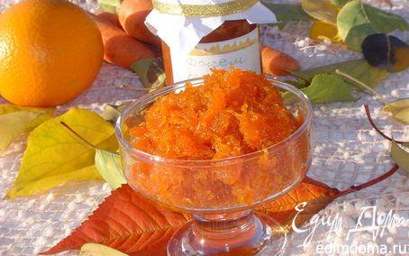 Рецепт Джем морковный с апельсиновой ноткой