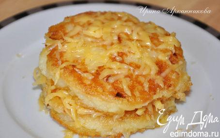 Рецепт Картофельные биточки с сыром