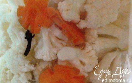 Рецепт Маринованная цветная капуста с морковью