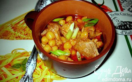 Рецепт Нут с мясом