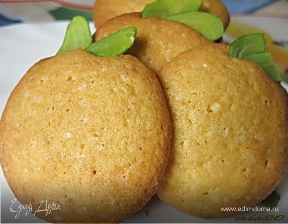 Печенье песочное (на желтках)