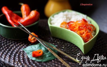 Рецепт Азиатский маринованный перец