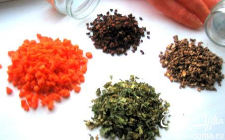Рецепт Заготовка сухих овощей и трав
