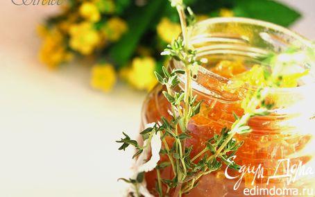 Рецепт Луковый конфитюр с апельсином