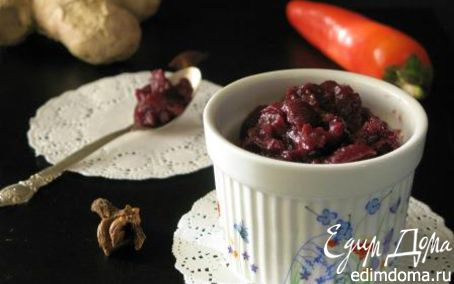 Рецепт Вишневый чатни от Дж. Оливера