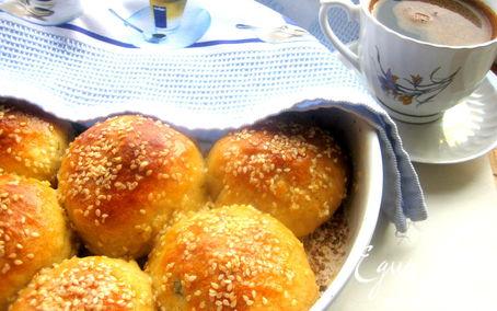 Рецепт Хлеб закусочный с оливками и сыром