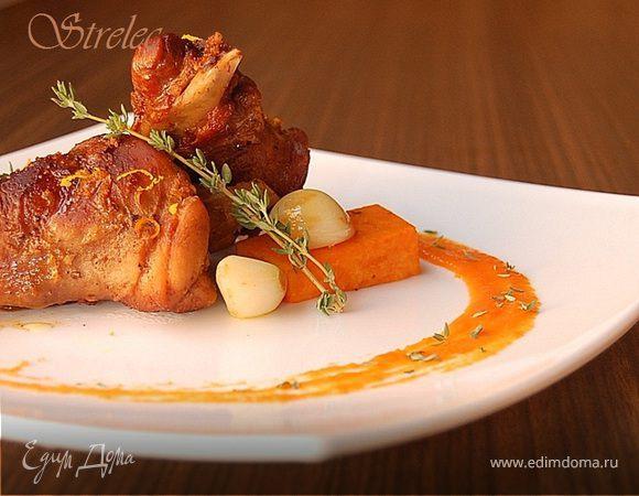 Кролик в винно-апельсиновом соусе, или кулинарный абстракционизм