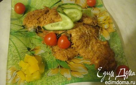 Рецепт Куриное филе в сырной корочке