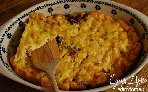 Рецепт Фриттата с сыром, тимьяном и вялеными помидорами