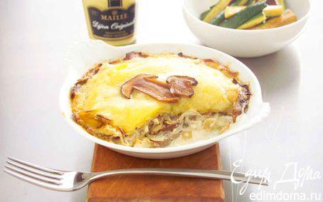 Рецепт Гратен с картофелем и грибами