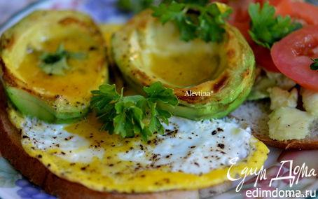 Рецепт Завтрак с авокадо