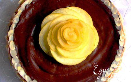 Рецепт Морковно-яблочный постный торт