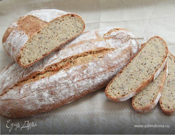 Мультизлаковый хлеб с семечками от Ришара Бертине