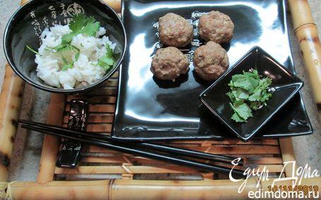Рецепт Мясные шарики на пару