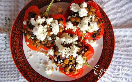 Рецепт Фаршированные перцы по-гречески