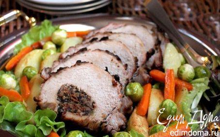 Рецепт Запеченная свиная корейка