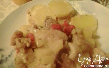 """Рецепт Свинина с ананасами """"На новый год"""""""