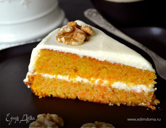 Морковный торт – рецепт