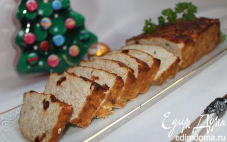 Рецепт Мясной хлеб с вялеными помидорами