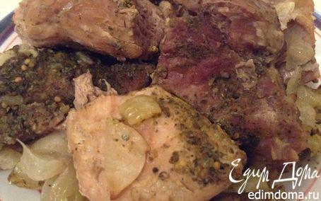 Рецепт Свинина, тушенная в горшочке (по-маминому рецепту)