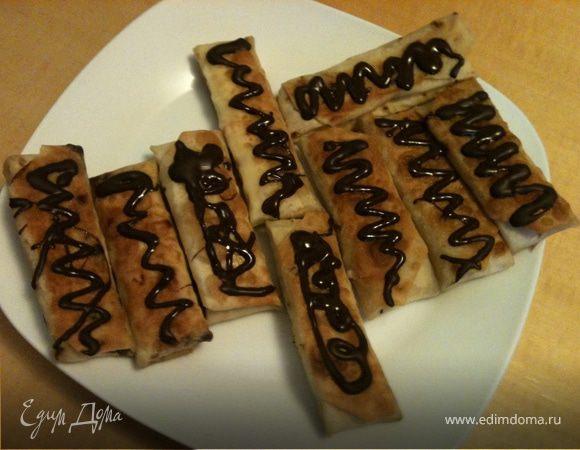 Рулетики десертные на завтрак