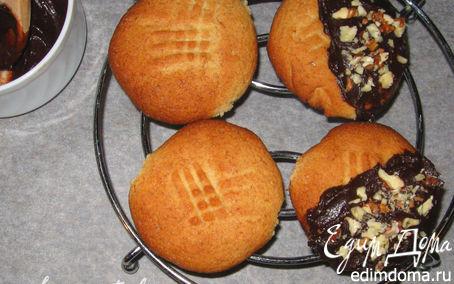 Рецепт Печенье из цельнозерновой муки с шоколадом