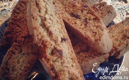 Рецепт Миндальные бискотти с шоколадной крошкой