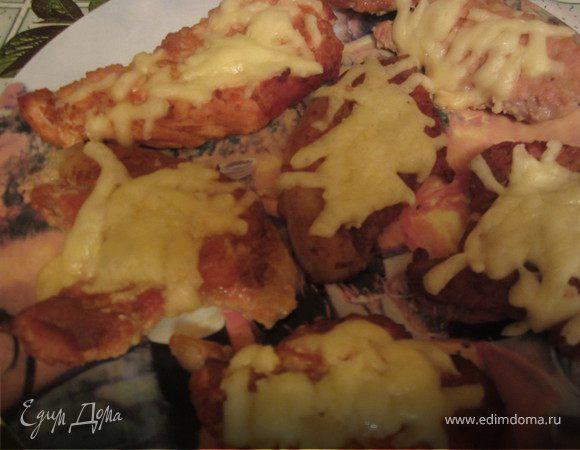 Шницель по-тоскански