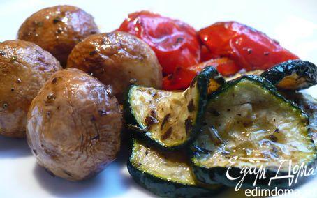 Рецепт Овощи-гриль, или домашние антипасти