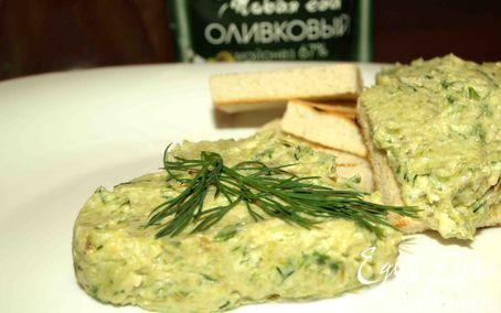 Рецепт Паштет из лука-порея, яиц и орехов кешью