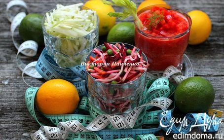 Рецепт 5 салатов из свежих овощей