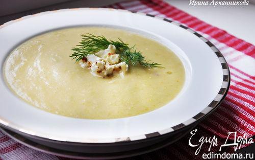 Рецепт Овощной суп-пюре с зеленым горошком