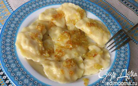 Рецепт Вареники с квашеной капустой и картошкой