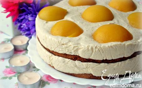 """Рецепт Банановый торт-суфле """"Маруся"""""""
