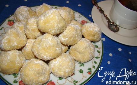 Рецепт Рассыпчатое печенье из вареных желтков