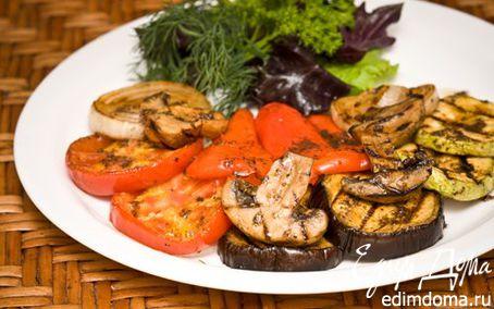 Рецепт Маринад для овощей гриль