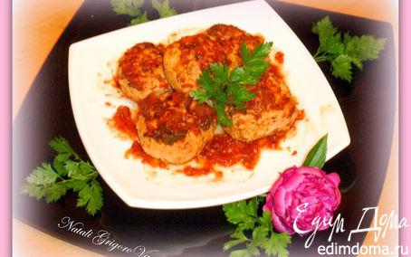 Рецепт Нежные тефтельки из мяса индейки