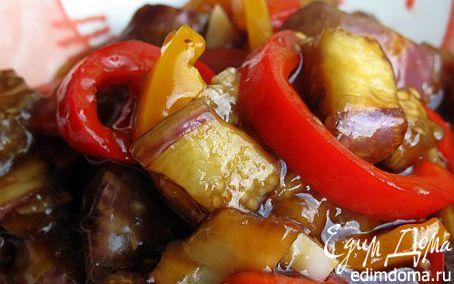 Рецепт Овощи с куриным филе по-китайски