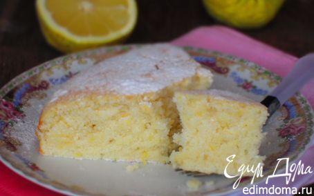 Рецепт Лимонный пирог на белках