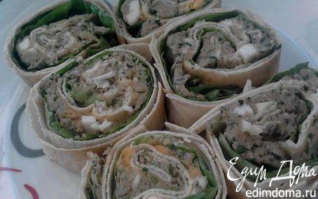 Рецепт Арабские лепешки с начинкой