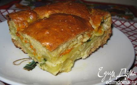 Рецепт Домашний картофельный пирог