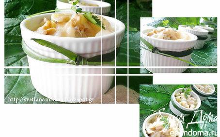 Рецепт Быстрая запеканка из овощей и грибов