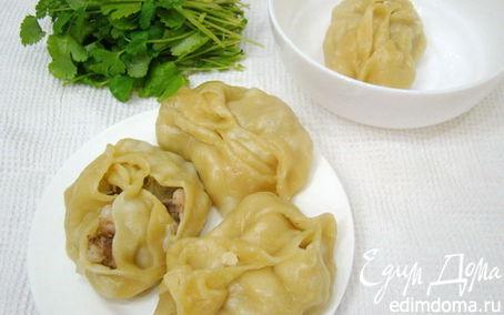 Рецепт Манты узбекские