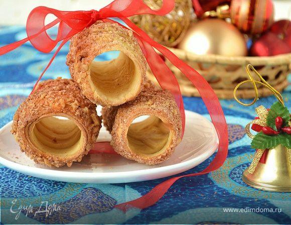 Трдельник - чешские витые булочки