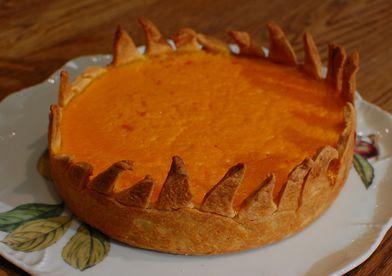 Сладкий пирог с тыквой и кленовым сиропом