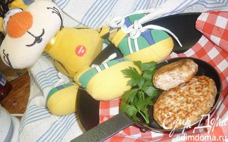Рецепт Котлеты из красной рыбы с тимьяном